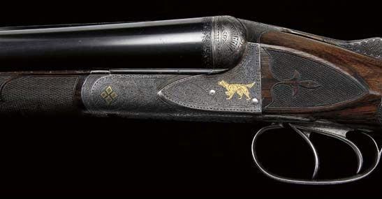 Theodore Roosevelt's Fox shotgun