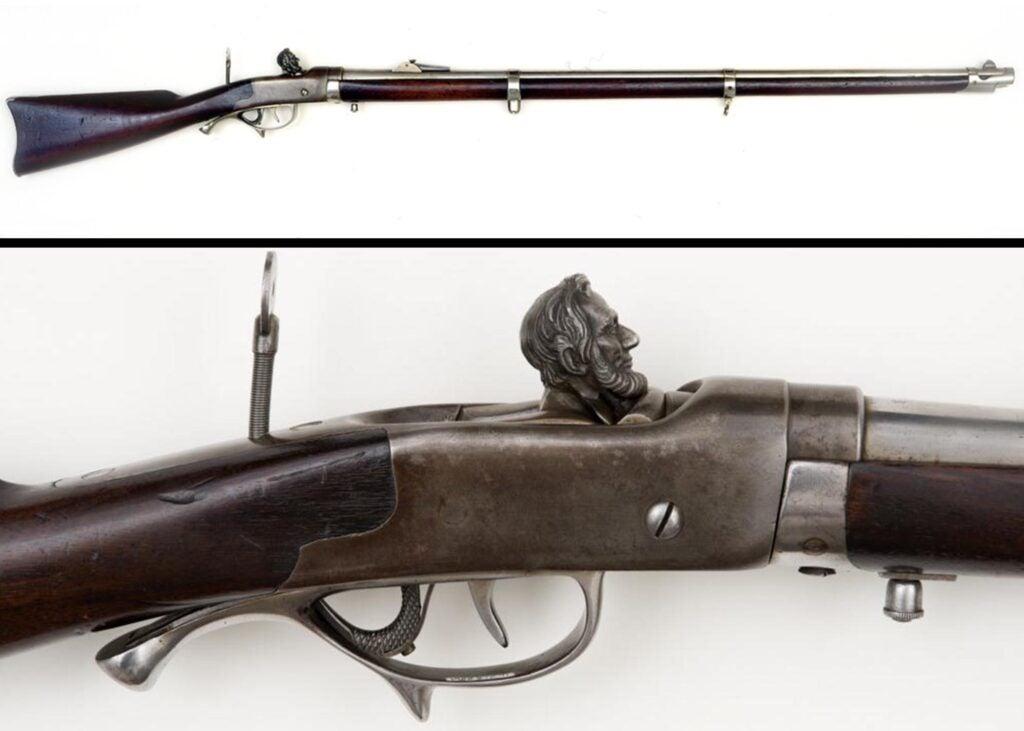 Abraham Lincoln's Berdan rifle.