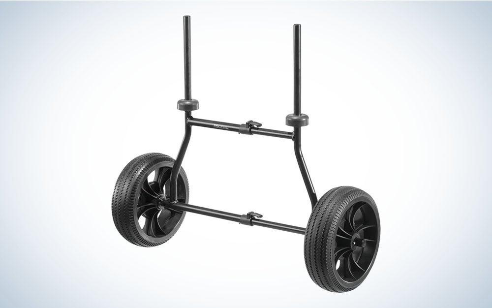 Black kayak cart