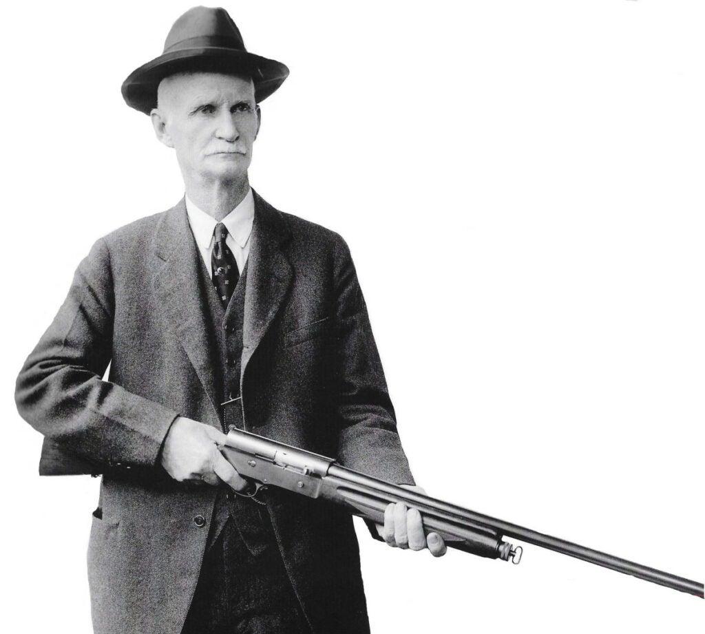 browning with auto-5 shotgun