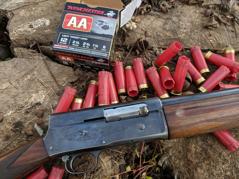 classic browning auto 5 12-gauge shotgun