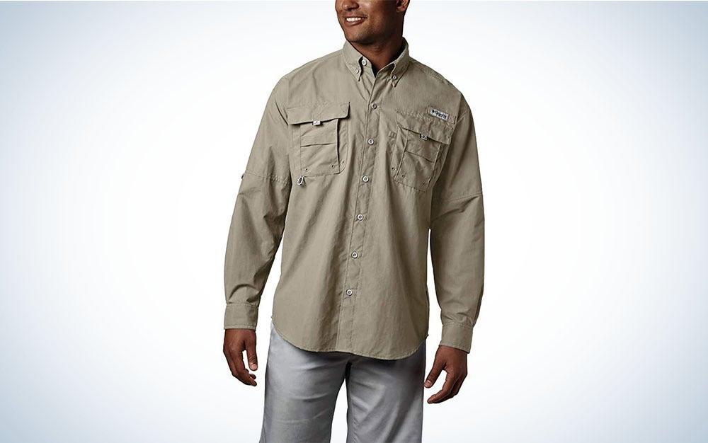 Long-sleeve UPF shirt