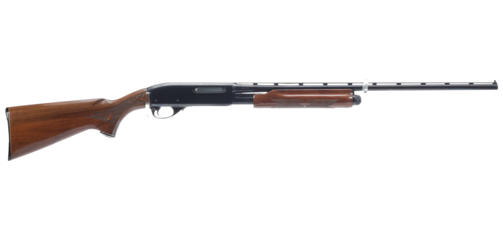 A used Remington 870 Wingmaster.