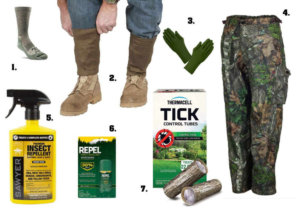 The best tick-repellent gear.