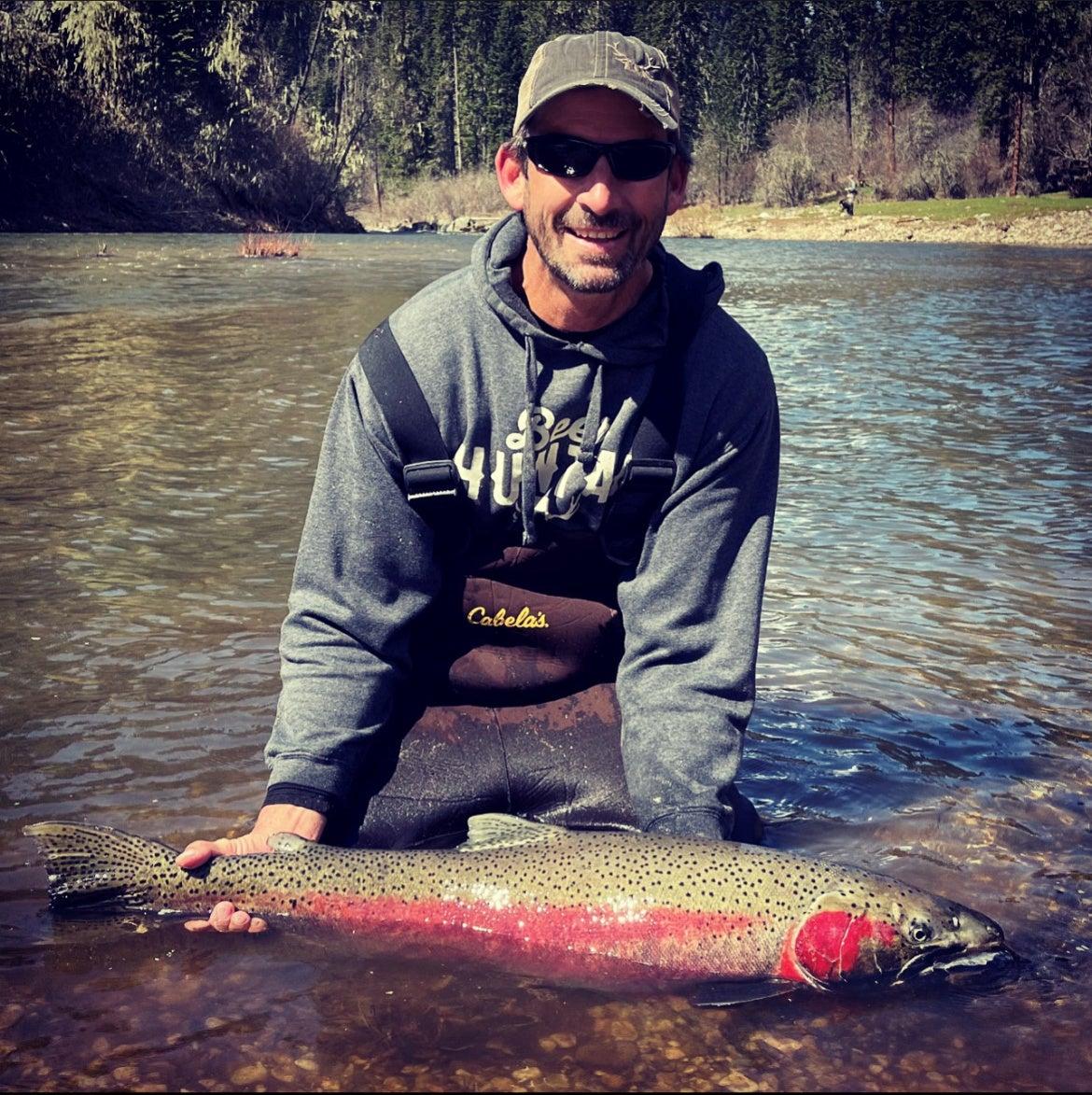 Idaho Angler Reclaims His Steelhead Record