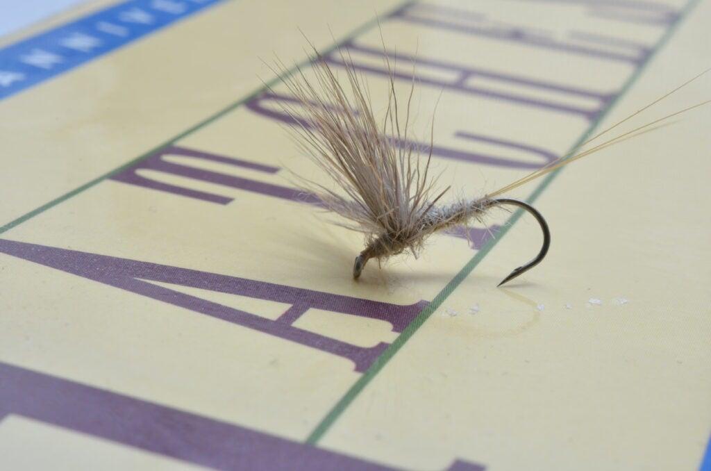comparadun fly fishing fly.