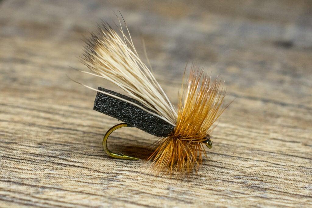 Puterbaugh Caddis fly fishing pattern.