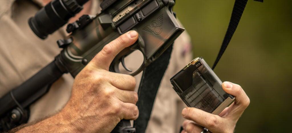 magazine fed rifle general purpose drill