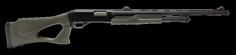 Savage 320 Turkey Thumbhole shotgun.