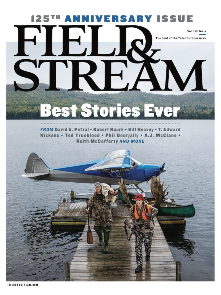 the 125th anniversary issue of field and stream