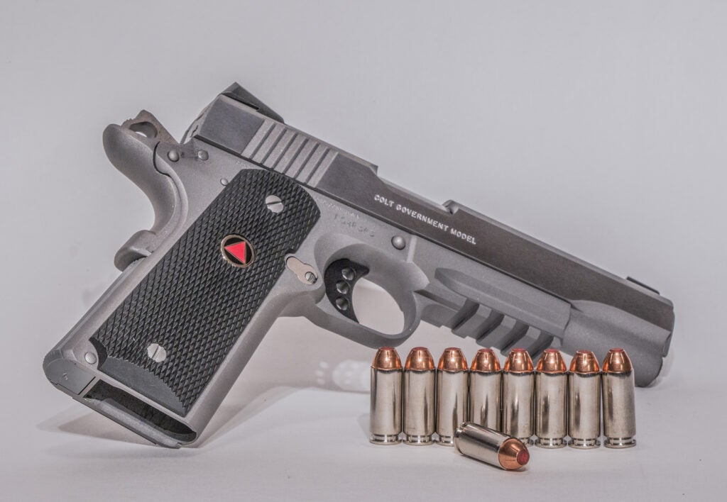 Colt Delta Elite Handgun.
