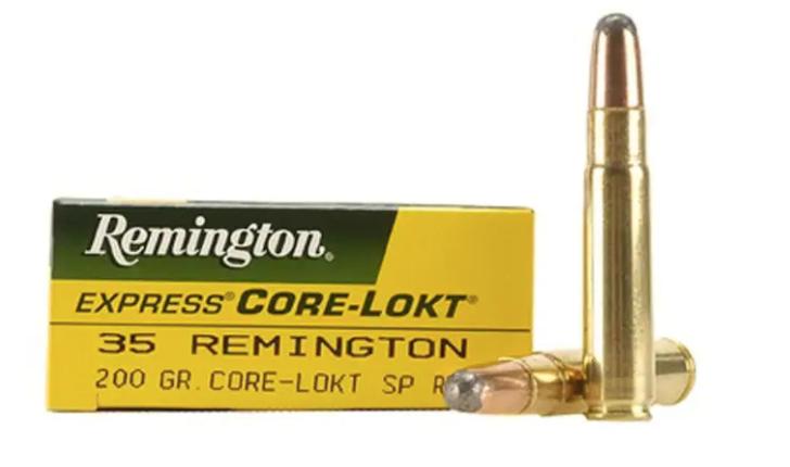 .35 Remington rifle ammunition
