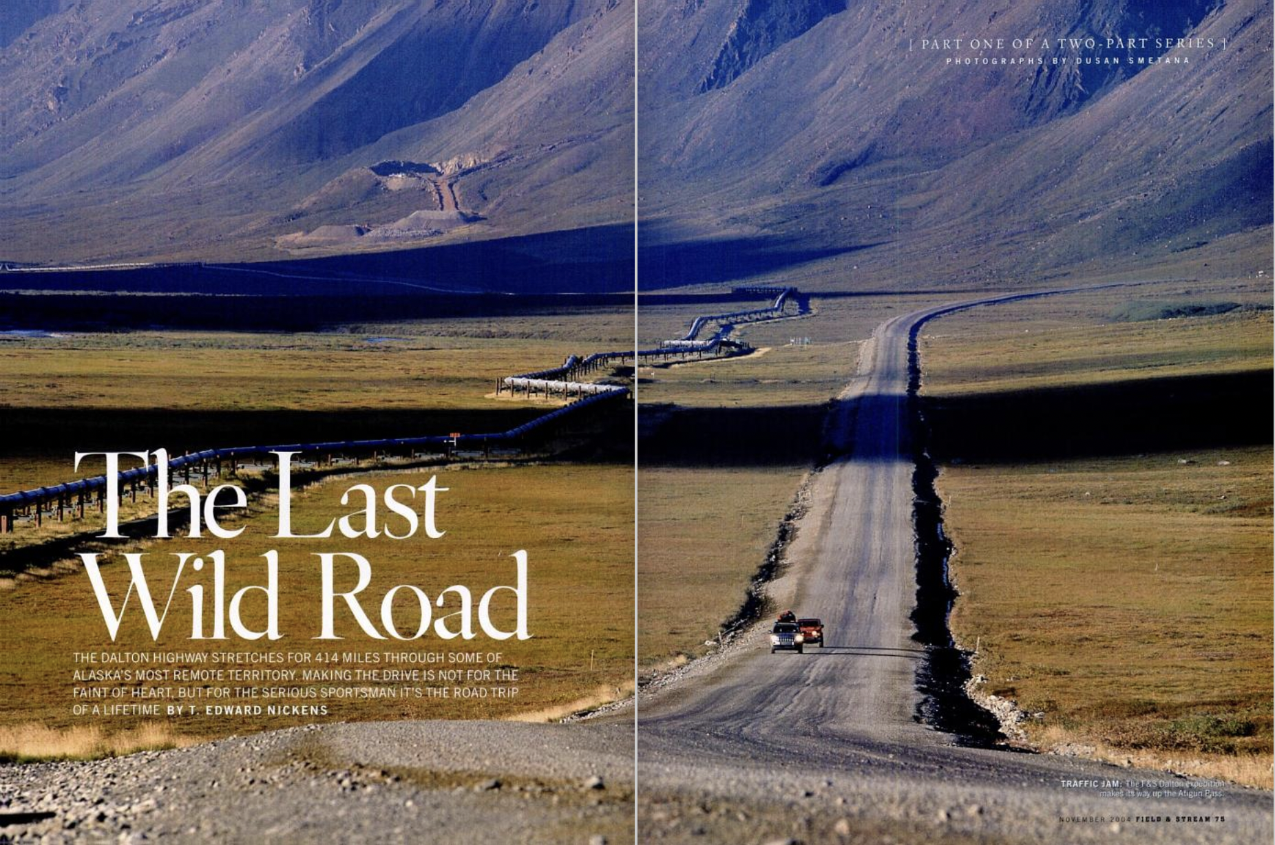 The Dalton Highway in Alaska is a mecca for big game adventurers