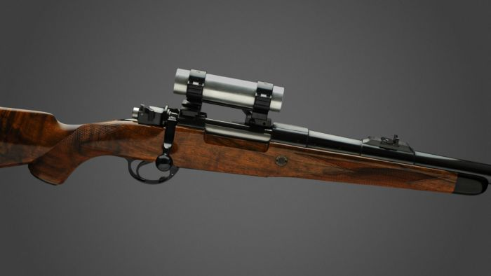 Holland & Holland .375 H&H rifle.