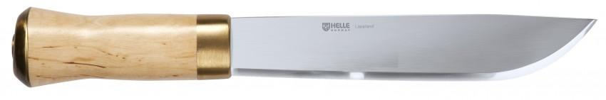 Helle Lappland camp knife.