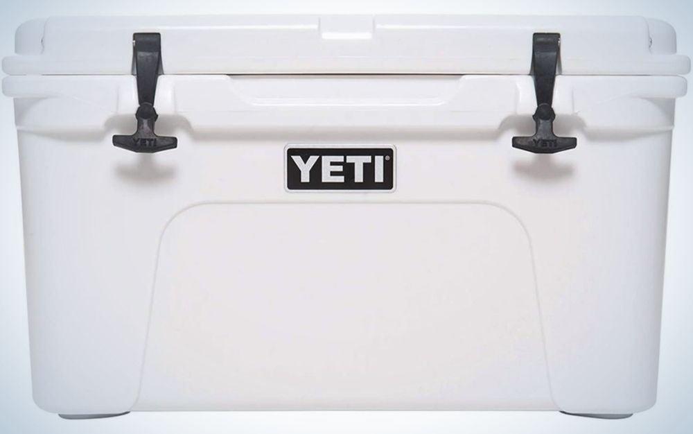 White Yeti Tundra 45 Cooler