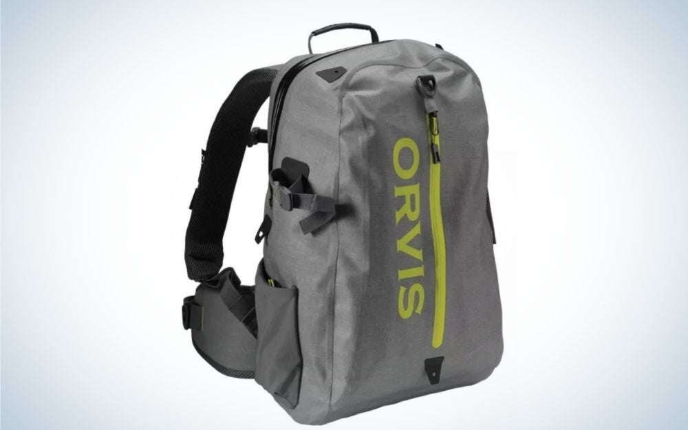 Orvis fishing backpack is one of the best gifts for dad on Father's Day