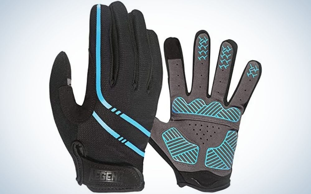 Pair of black gloves for Father's Day