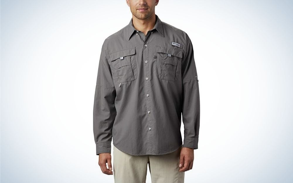 A fishing shirt is one of the best Father's Day gifts for outdoorsmen