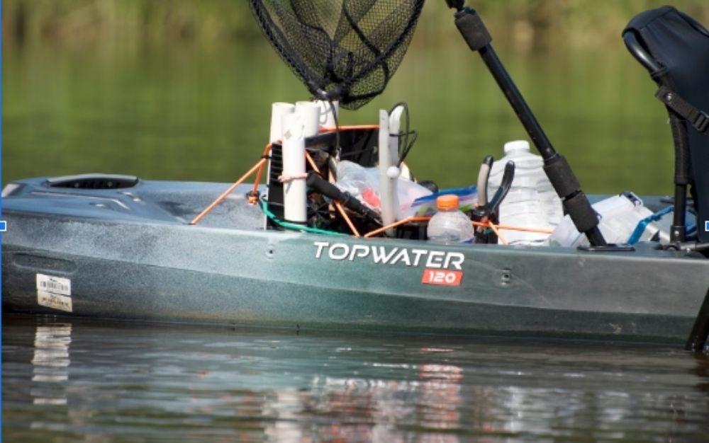 Old Town Topwater 120 fishing kayak
