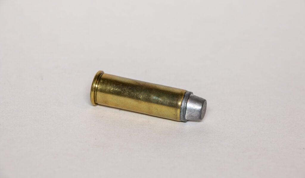 .41 Magnum revolver cartridge.