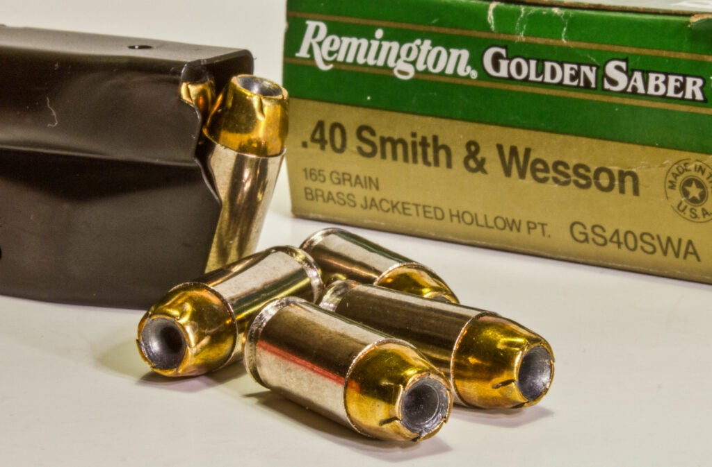 .40 Smith & Wesson.