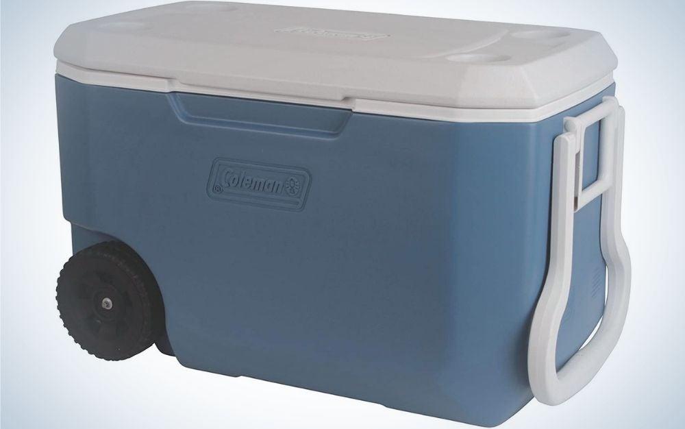 Blue coleman cooler