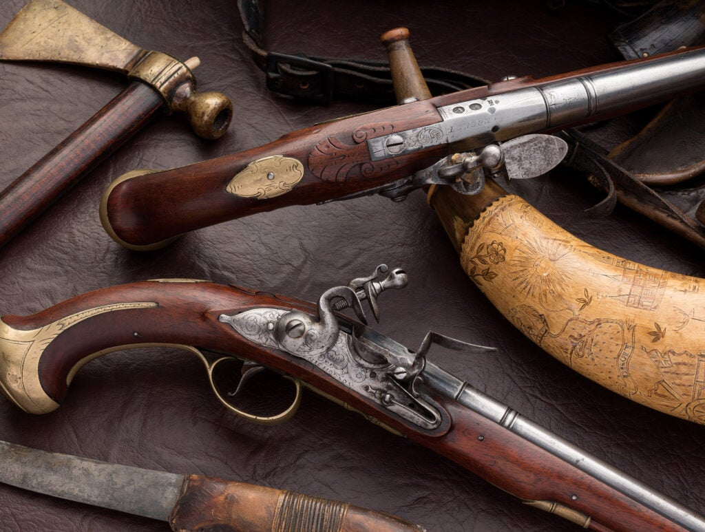 Alexander Hamilton pistols.