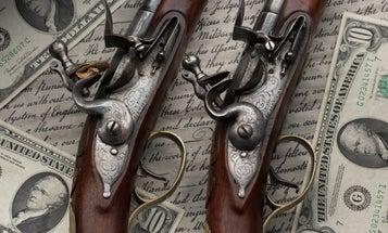 Alexander Hamilton Pistols Sell for $1.15 Million
