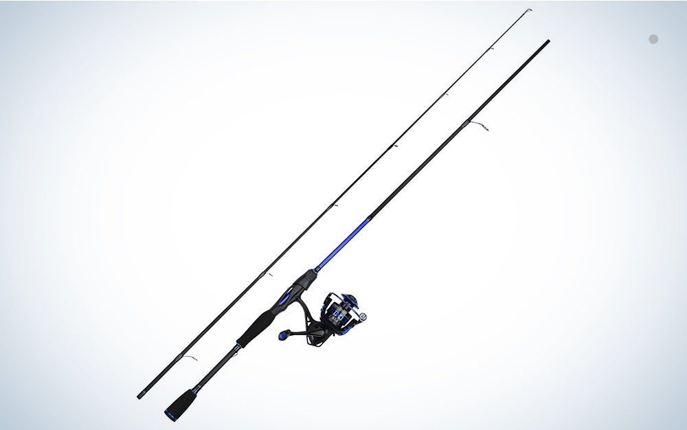 Spinning rod and reel combo