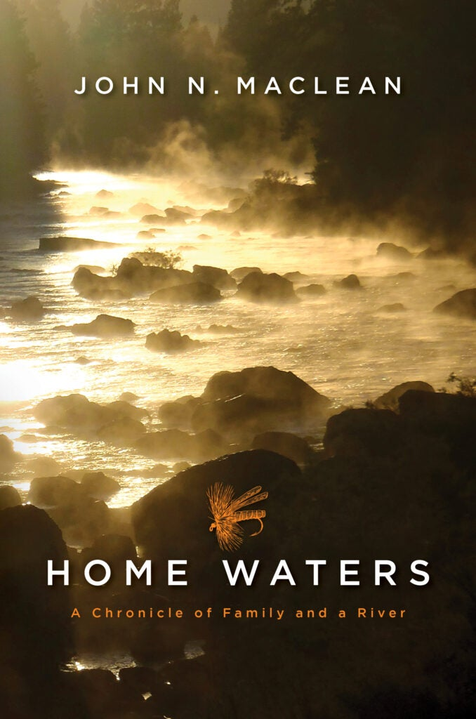 The book Home Waters by John Maclean