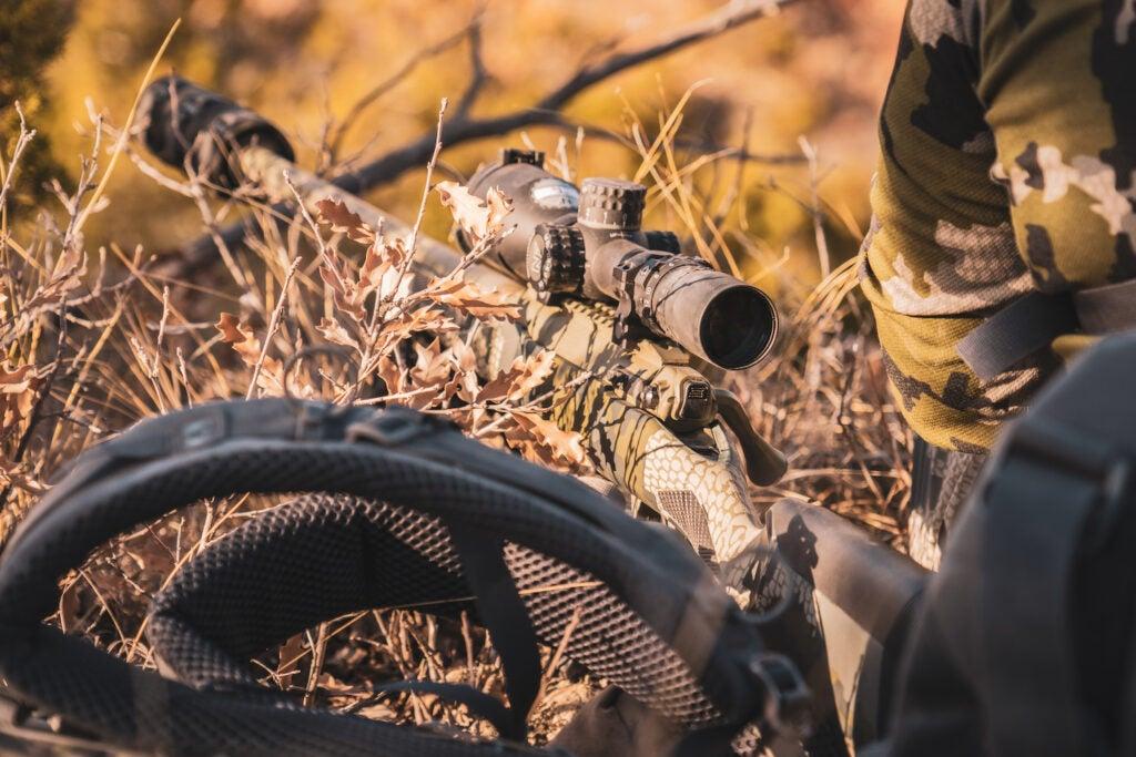 Savage Impulse aoudad hunt rifle texas dust