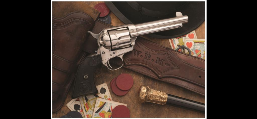 Batt Masterson Colt Peacemaker