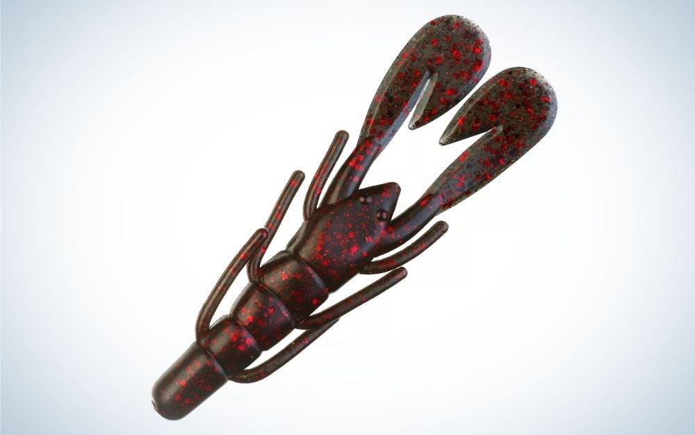 Black red glitter magnum speed craw