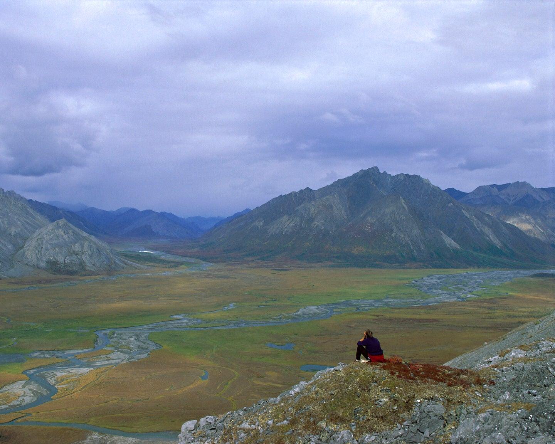 The Arctic National Wildlife Refuge.
