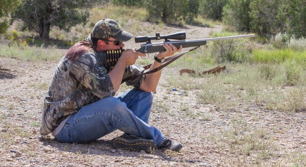 Long Range Shooting Drill Seated