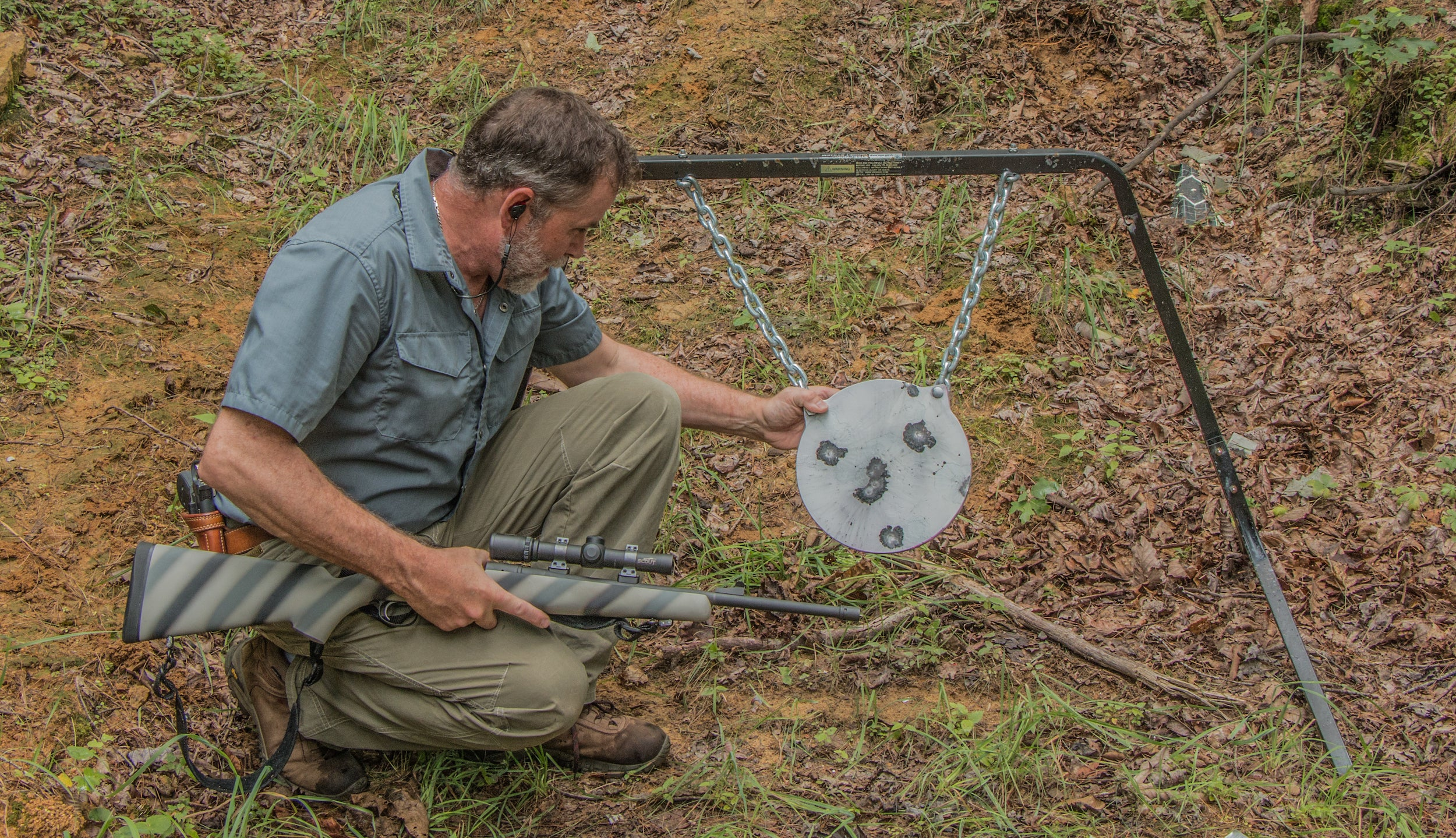 Steel Targets Long Range Shooting Drill