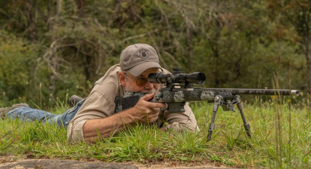 Long Range Shooting Drill Prone Position