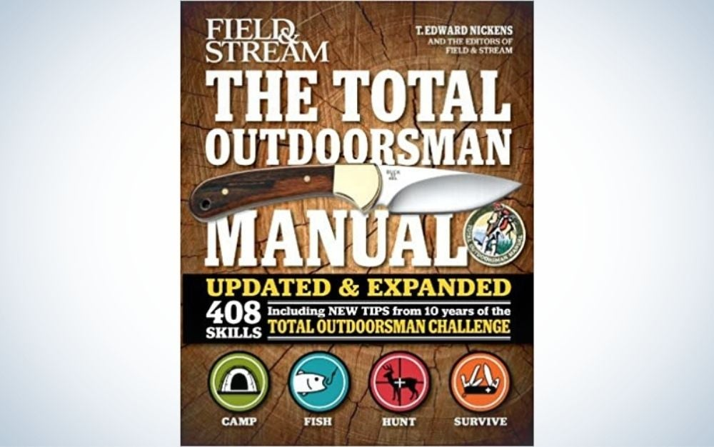 The Total Outdoorsman Manual guide book is the best birthday gift for him