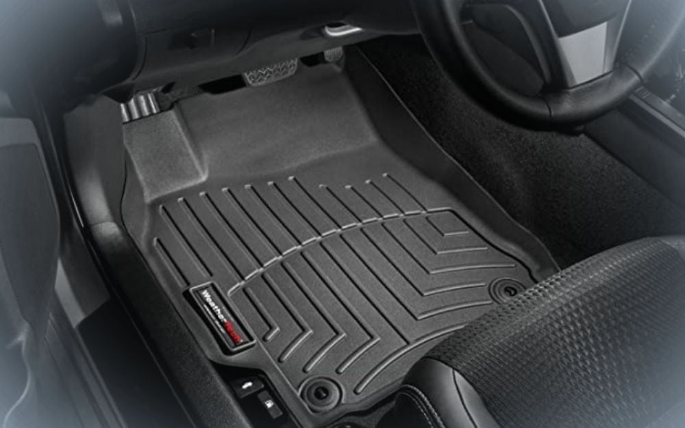 Strong, black floor liner for cars and trucks are thoughtful gifts for men