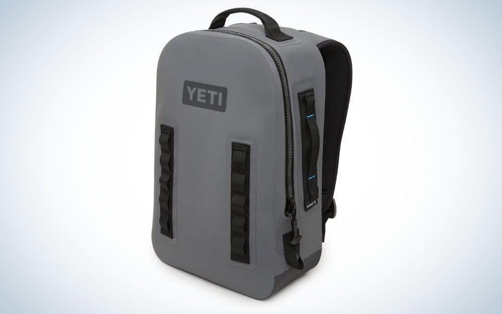 YETI, gray, airtight backpack is the best birthday gift for him