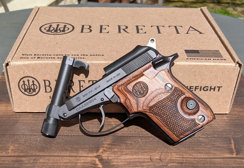 Beretta 21A Covert .22LR pistol
