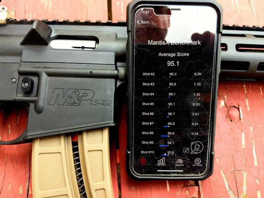Mantis X10 Elite trainer rifle