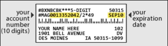 address box