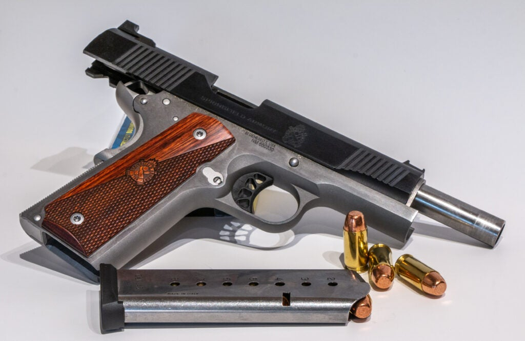 Springfield Armory Ronin handgun on a white background