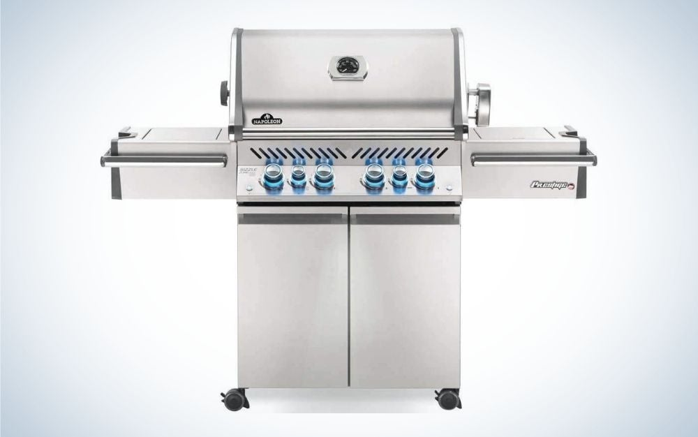 Stainless steel propane gas grill are one of the best prime days deals on grills