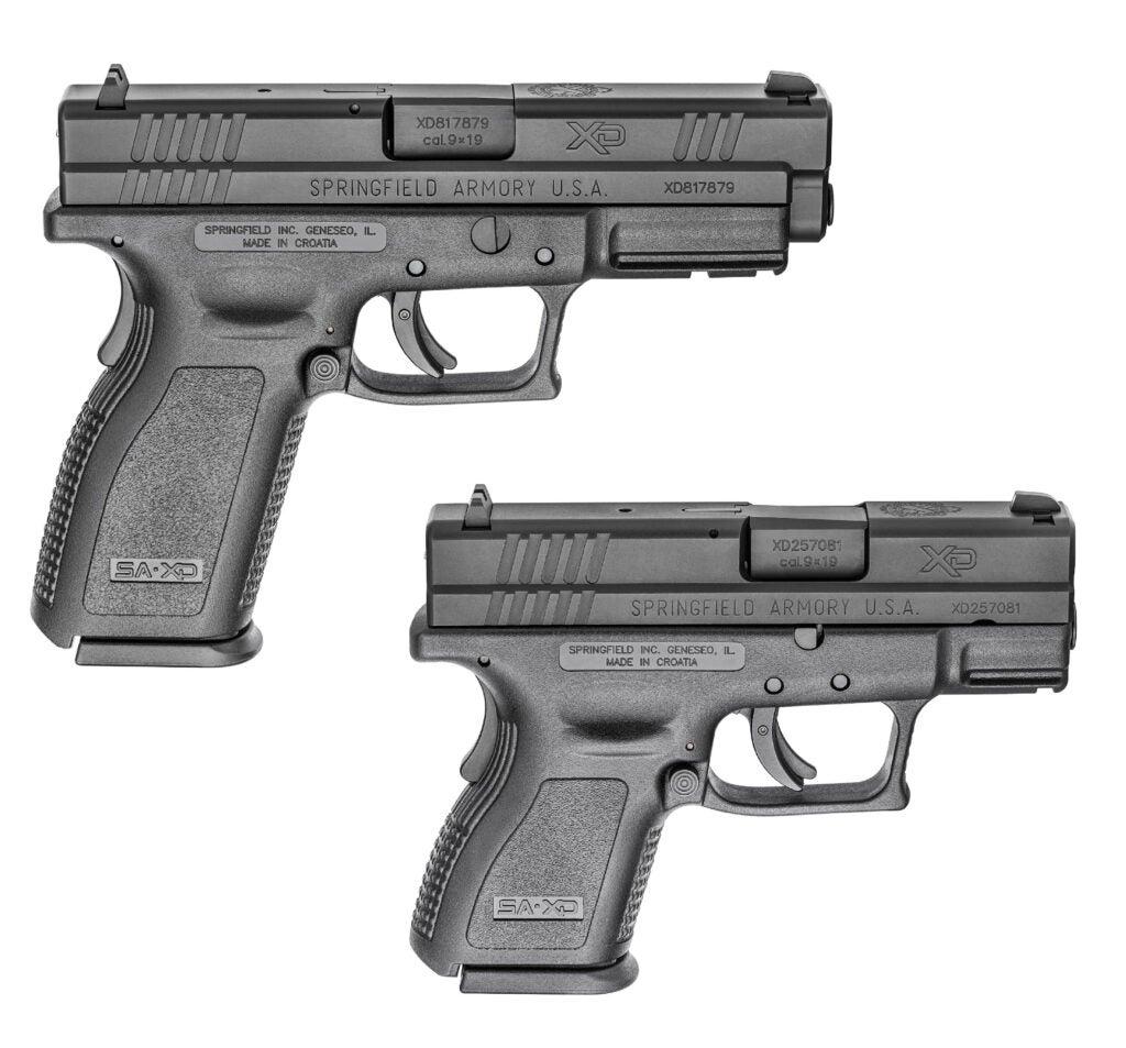 Springfield Armory XD Pistols.
