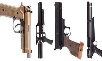 7 Serious Air Pistols for Hunting, Training, and Competition Shooting