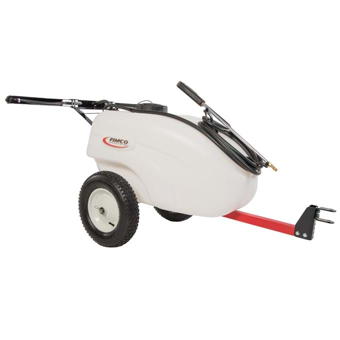 Filmco 30-gallon ATV sprayer.