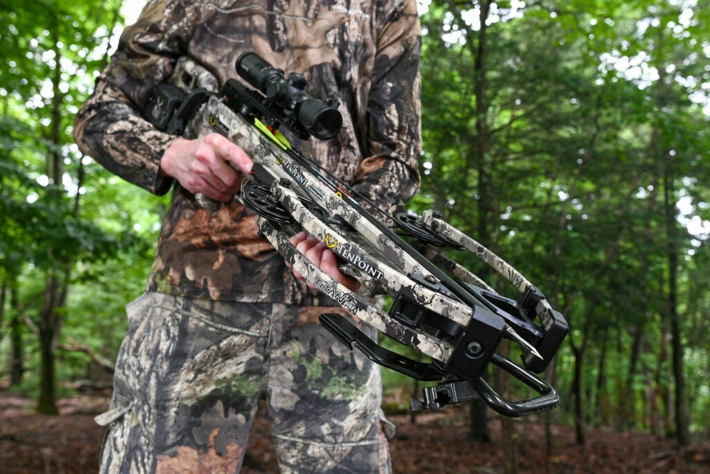 A review of the TenPoint Titan M1 hunting crossbow